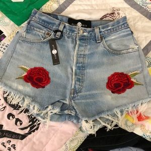 Nasty Gal After Party Rose Embroidered Size 26